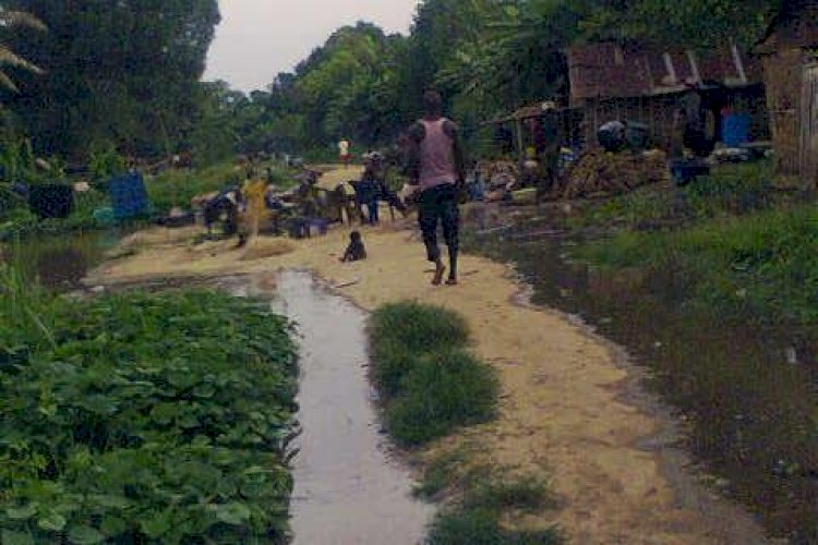 Onono (Umuikwu Anam) farming camp submerged